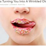 Sugar makes you age faster